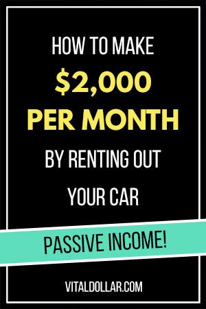 Make Money as a Car Share Host