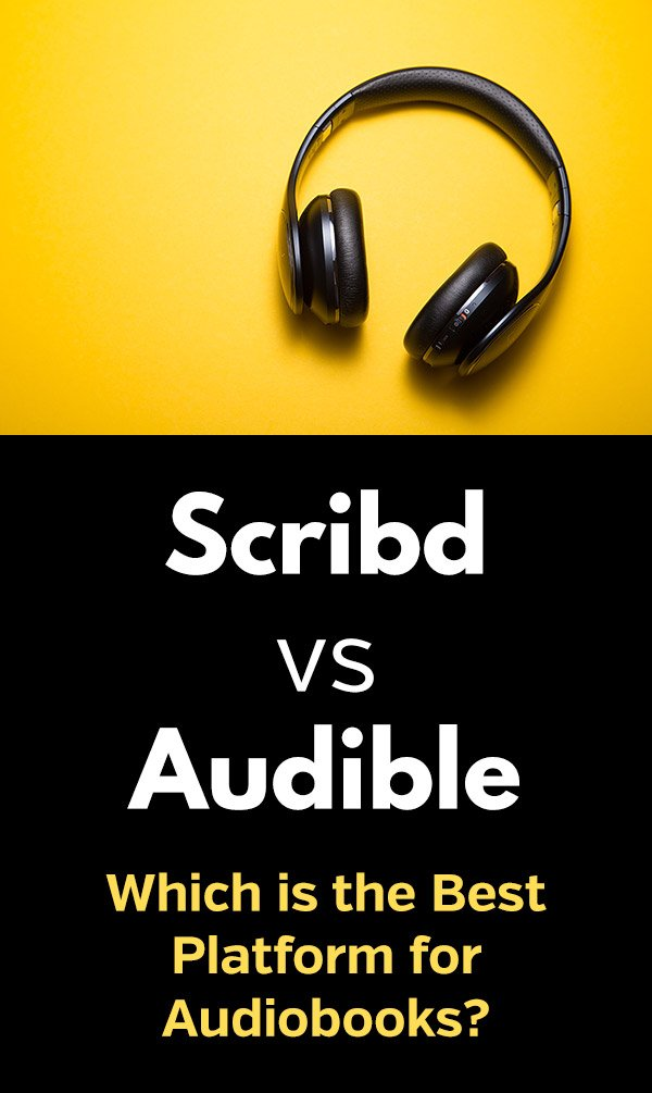 Scribd vs. Audible: Which is the Best Platform for Audiobooks? This article compares the two membership services that allow you to download and rent (Scribd) or own (Audible) your favorite audiobooks. Look at the prices, features, and compare the two services to see which one is best for you. Scribd is great for ebooks and other content, but if you\'re mostly interested in audiobooks, read this to see why Audible is better.