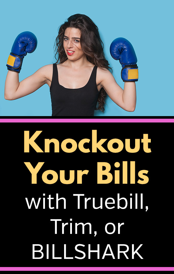 Trim vs. Truebill vs. Billshark: Which is the Best Bill Negotiation Service? Looking to save money each with with very little effort? These bill negotiators will work tor lower your monthly bills for cable TV, internet, phone, and more. And best of all, if they don\'t save you money, you\'ll owe nothing. Their fee is based on how much they save you, so you have nothing to lose. See the details of each service. #frugal #frugalliving #savemoney #saving #save #money