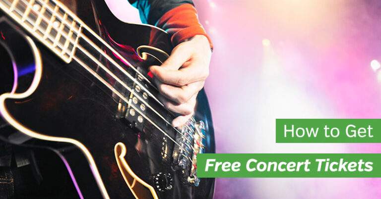 15 Ways to Get Free Concert Tickets