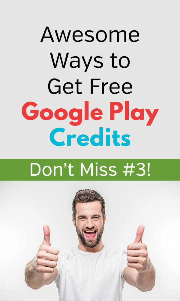 Use these tips and tricks to get free Google Play credits that can be used for apps, movies, games, magazines, and other entertainment purchased through the Google Play store. Start earning free credits today and keep them coming by using your favorites on a regular basis. Getting free credits is easy when you know how to do it! #frugal #frugalliving #free #freebies #savingmoney #savemoney