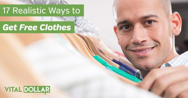 17 Realistic Ways to Get Free Clothes