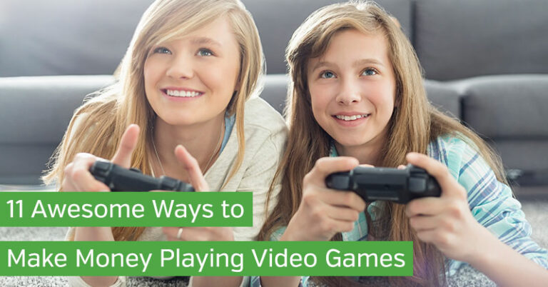 11 Awesome Ways to Make Money Playing Video Games