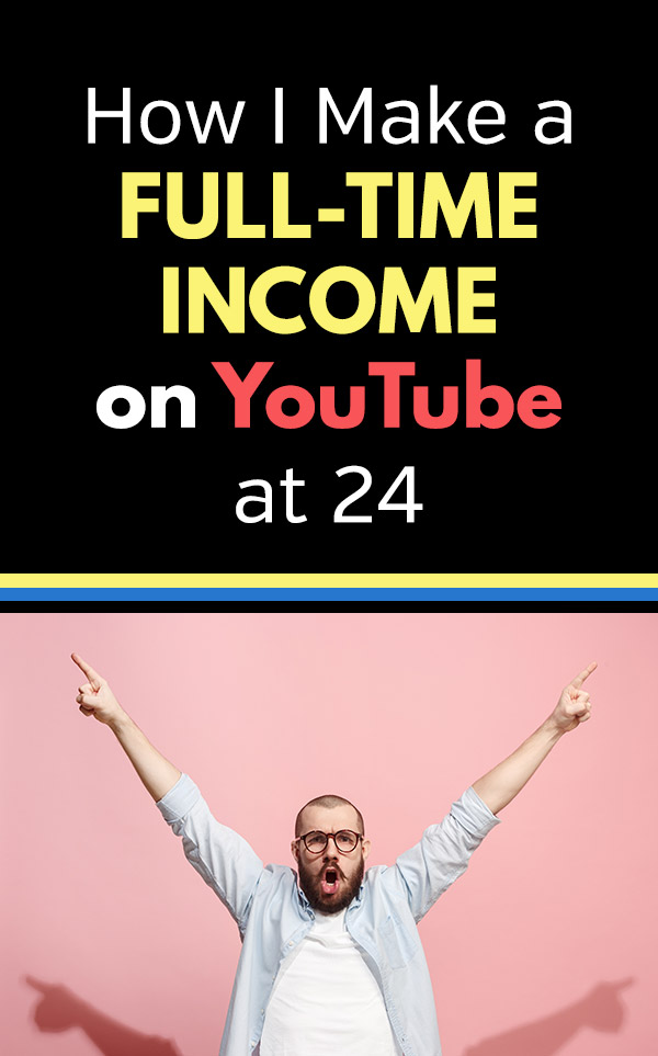 If you want a flexible way to make money that allows you to work from anywhere and work on something that you love, maybe you should consider starting a YouTube channel. This article is Ryan Scribner\'s story about how he started a personal finance YouTube channel as a side hustle and was able to quit his job in less than one year. Ryan now has more than half a million subscribers and spends his days having fun and getting paid. #sidehustle #makemoney #makemoneyonline