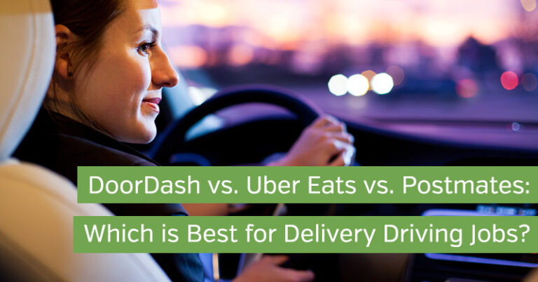 DoorDash vs. Uber Eats vs. Postmates: Which is Best for Delivery Driving Jobs?