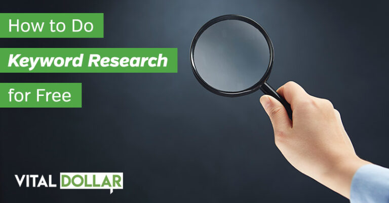 How to Do Keyword Research for Free in 2020