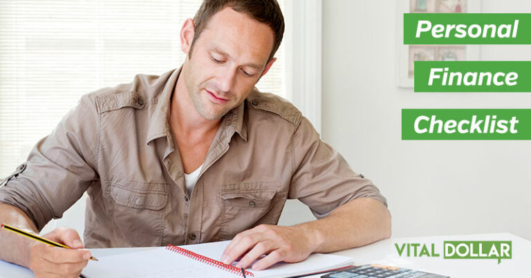 Personal Finance Checklist to Help Organize Your Financial Life