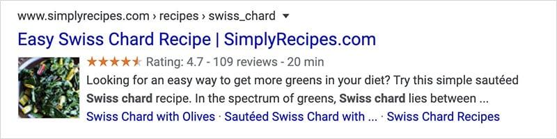 SERPs - Swiss Chard