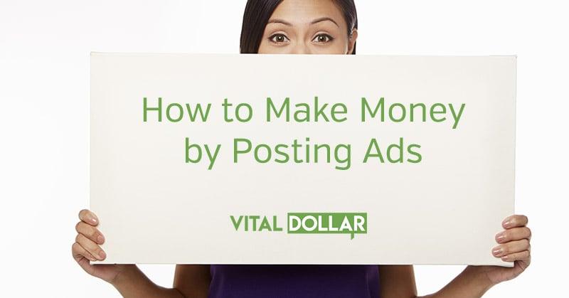 Make Money Posting Ads