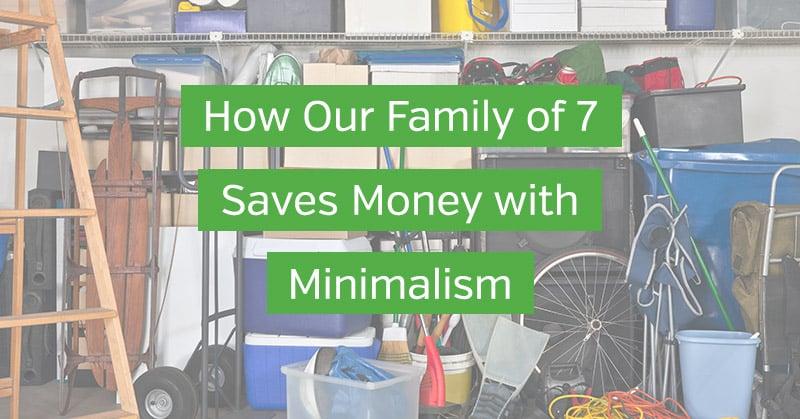 Saving Money with Minimalism
