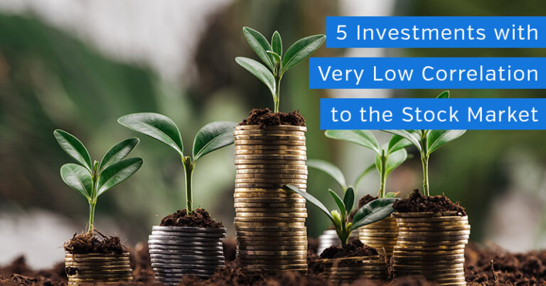 5 Investments with Low Correlation to the Stock Market