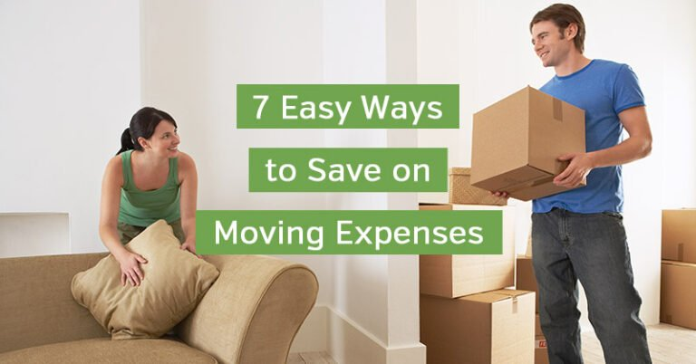 7 Easy Ways to Save on Moving Expenses