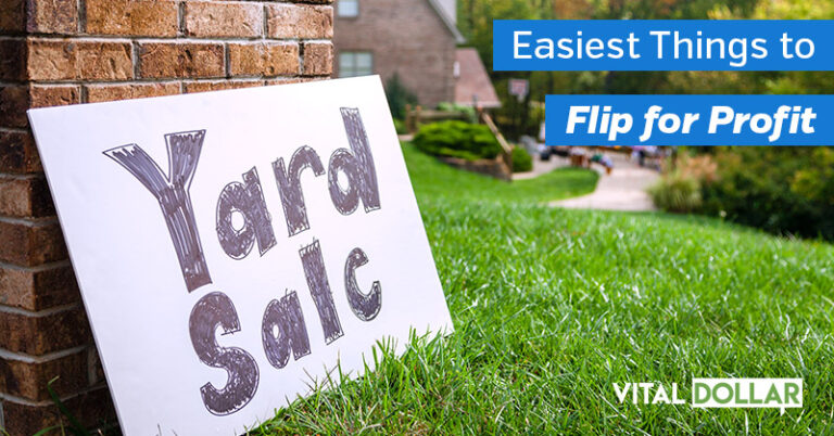 40+ Easiest Things to Flip for Profit